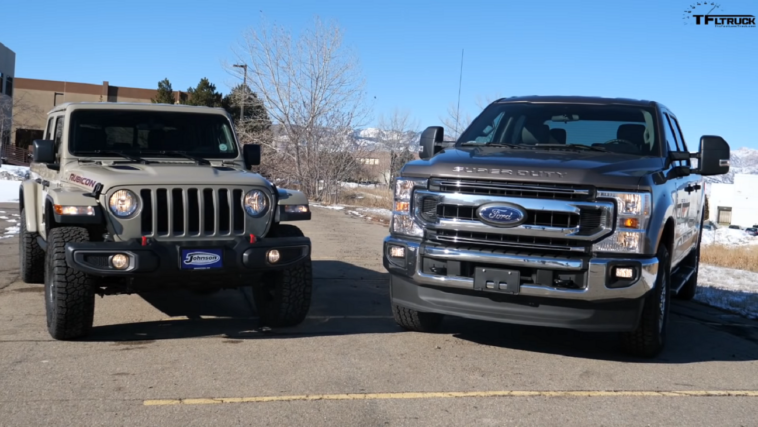 Jeep Gladiator vs Ford F-250 The Fast Lane Truck