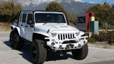 Jeep Wrangler 6×6