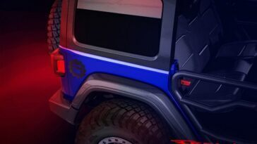 Jeep Wrangler Mopar teaser