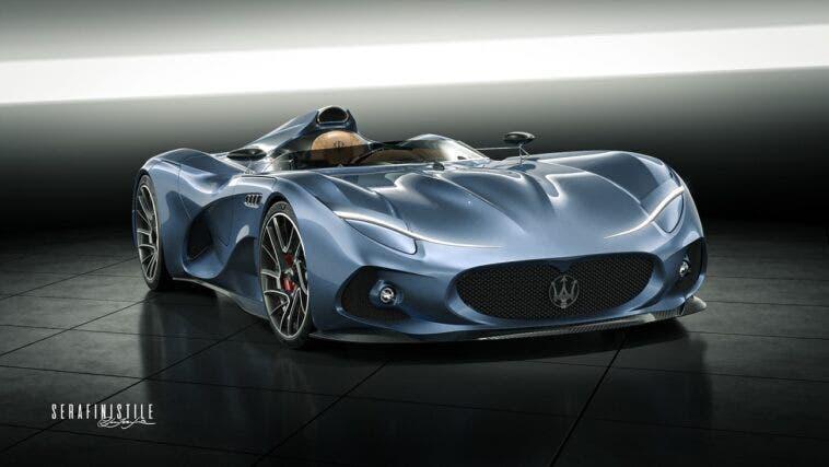 Maserati MilleMiglia concept