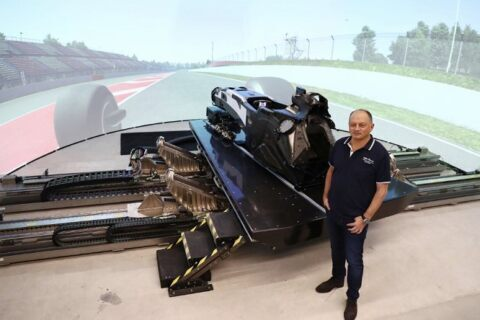 Simulatore Alfa Romeo Racing