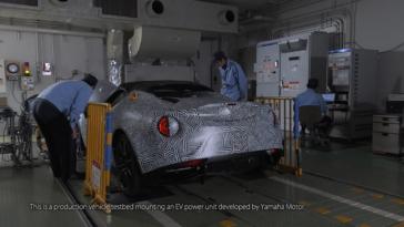 Alfa Romeo 4C motore elettrico Yamaha