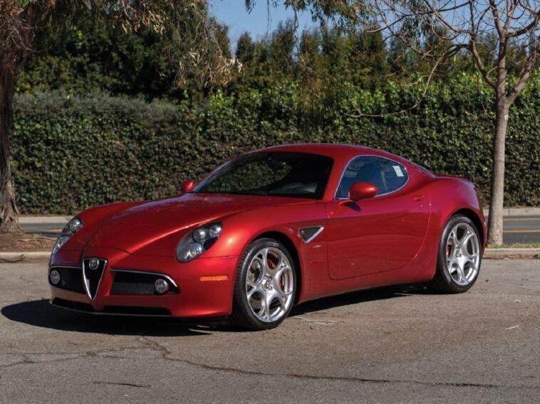 Alfa Romeo 8C Competizione 2008 asta