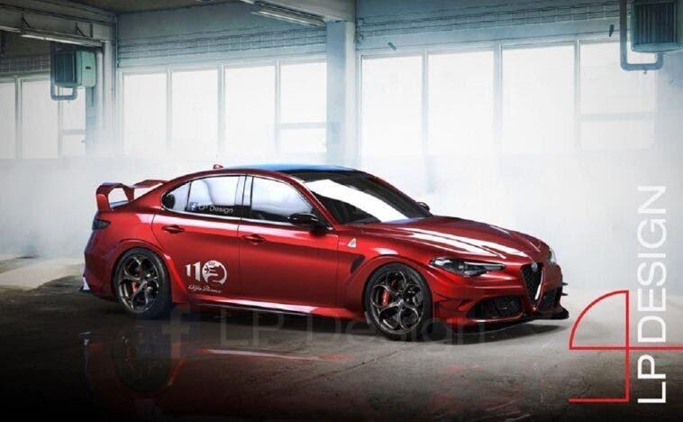 Alfa Romeo Giulia GTA 2020 LP Design