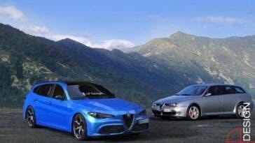 Alfa Romeo Giulia Sport Wagon Veloce LP Design