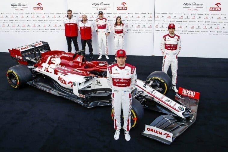 Alfa Romeo Racing ORLEN C39: svelata a Barcellona la monoposto 2020