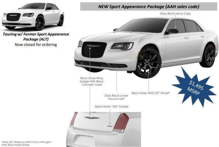 Chrysler 300 Touring Sport 2020