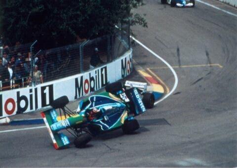 Damon Hill e Schumacher _ 2