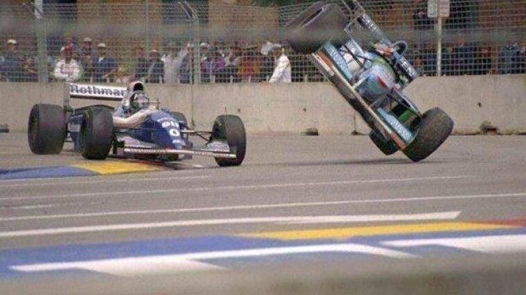 Damon Hill e Schumacher _ 1