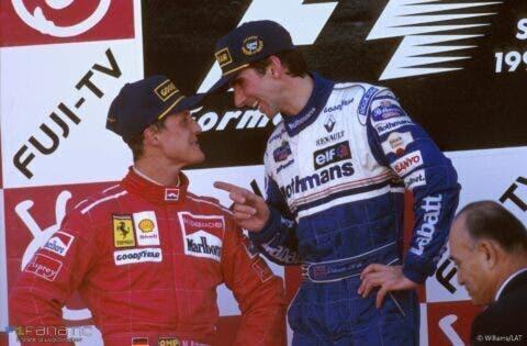 Damon Hill e Schumacher _ 3