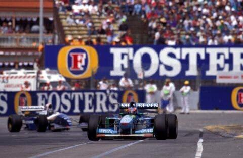 Damon Hill e Schumacher _ 4