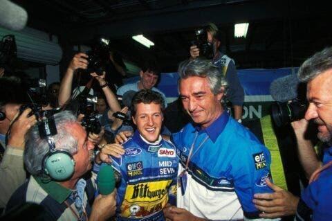 Damon Hill e Schumacher _ 5