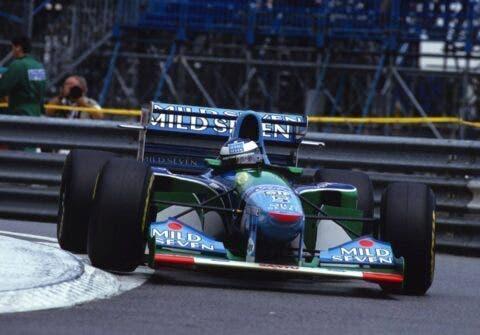 Damon Hill e Schumacher _ 6
