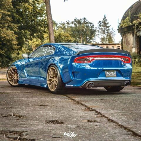 Dodge Charger SRT Hellcat Widebody Coupé render