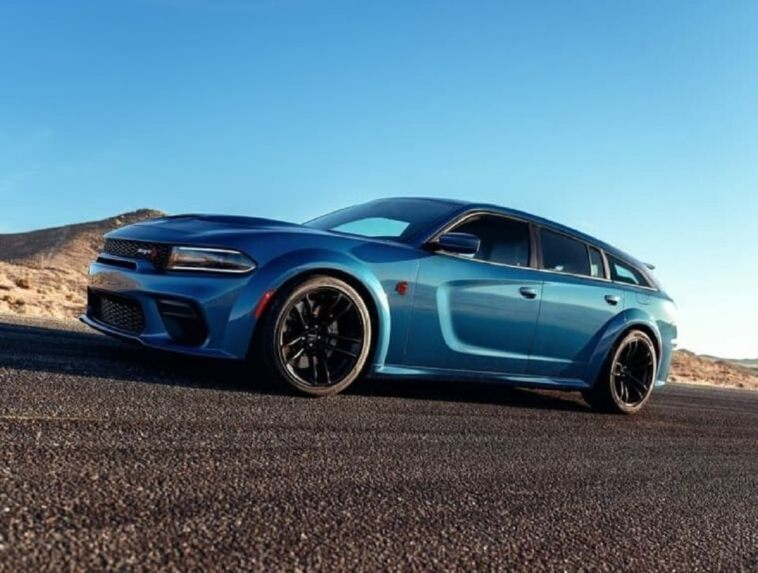 Dodge Charger SRT Hellcat Widebody Wagon render