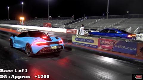 Dodge Charger SRT Hellcat vs McLaren 720S RoadTest TV