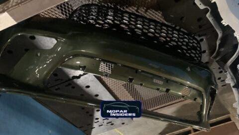 Dodge Durango 2021 paraurti anteriore
