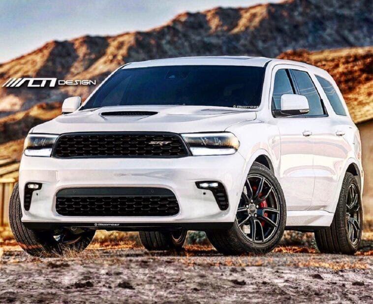 Dodge Durango SRT Hellcat render