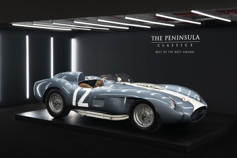 Ferrari 335 S Spyder Peninsula Classics Best of the Best Award