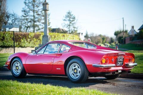 Ferrari Dino 246 GT 1973 asta