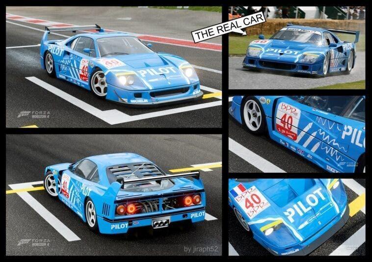 Ferrari F40 LM Forza