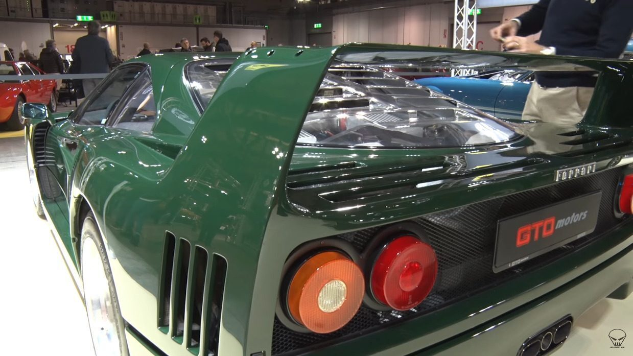 Ferrari F40 Verde Abetone