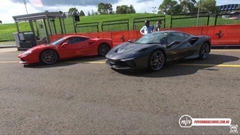 Ferrari F8 Tributo PDriveTV