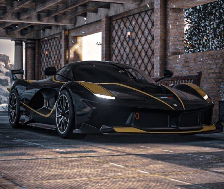 Ferrari FXX-K Batman render