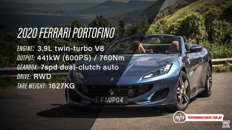 Ferrari Portofino PDrive
