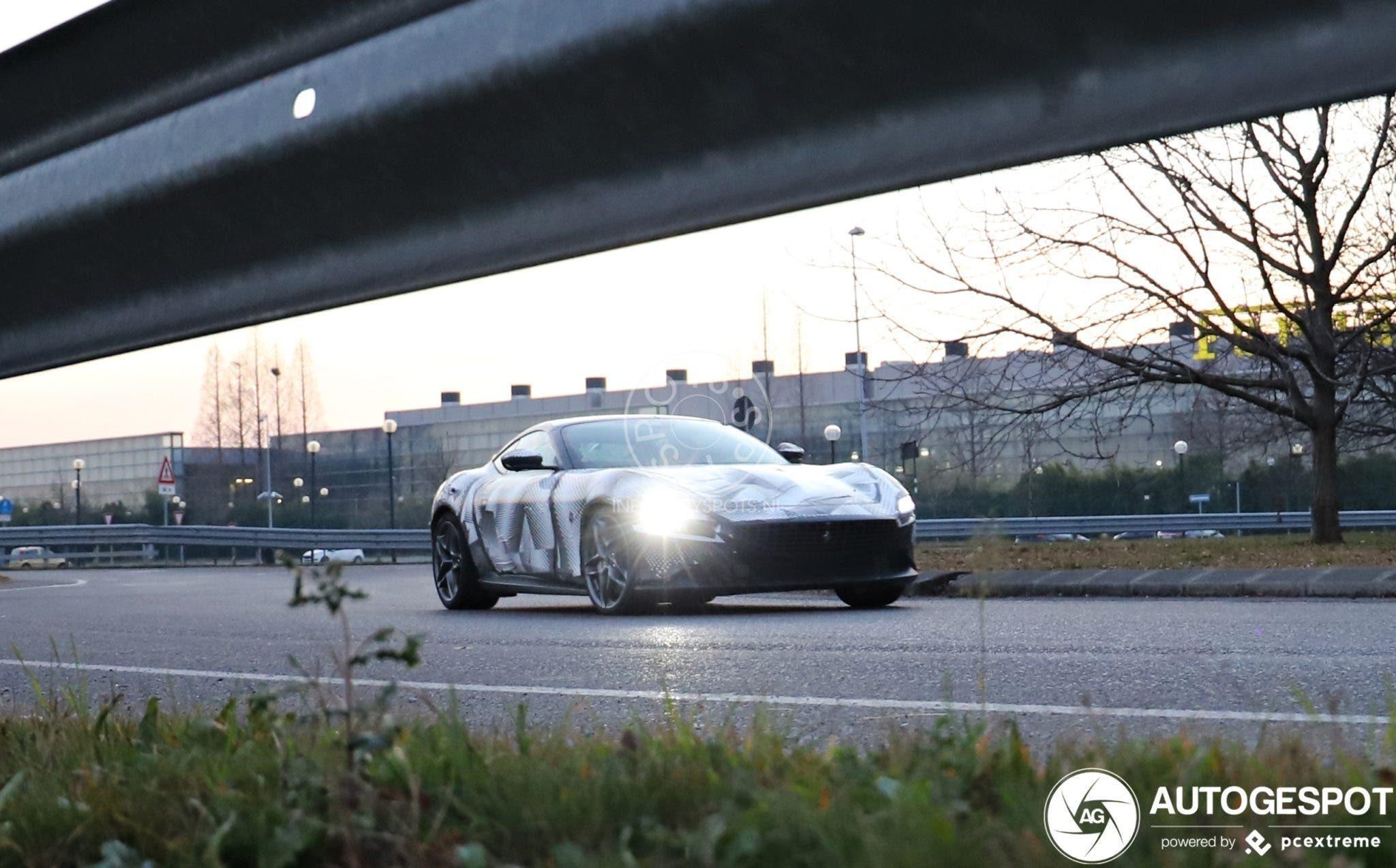Ferrari Roma prototipo