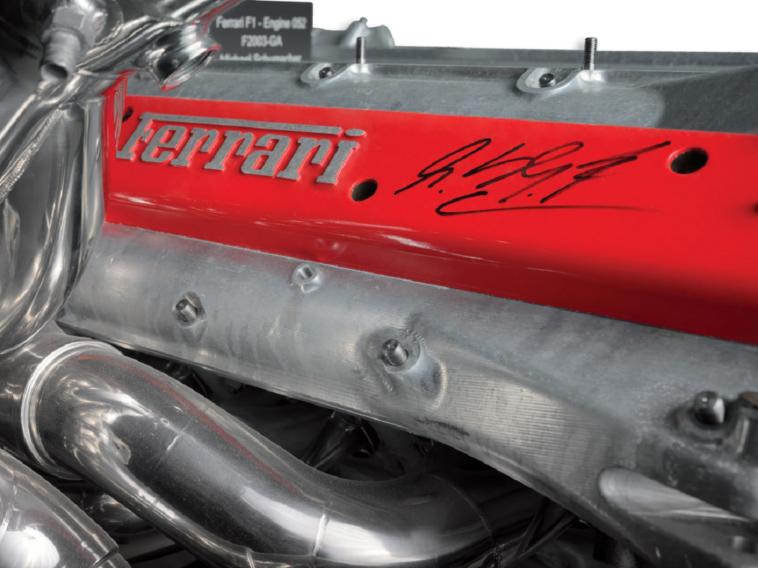Ferrari motore F2003-GA asta