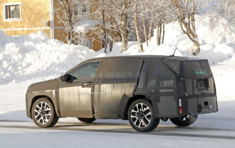 Fiat SUV foto spia