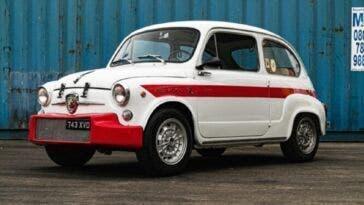Fiat Abarth 1000 TC 1962 asta