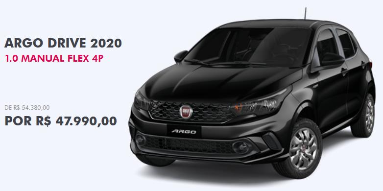 Fiat Argo offerta