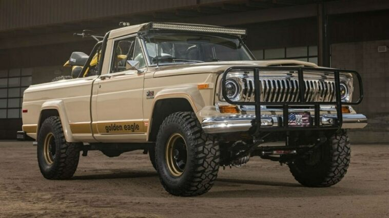 Jeep J10 Golden Eagle 1978 asta