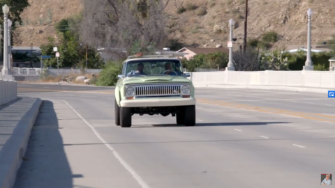 Jeep Wagoneer Roadtrip Jay Leno