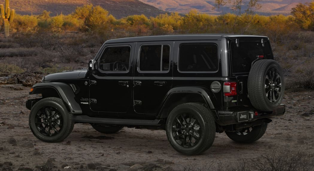 Jeep Wrangler High Altitude