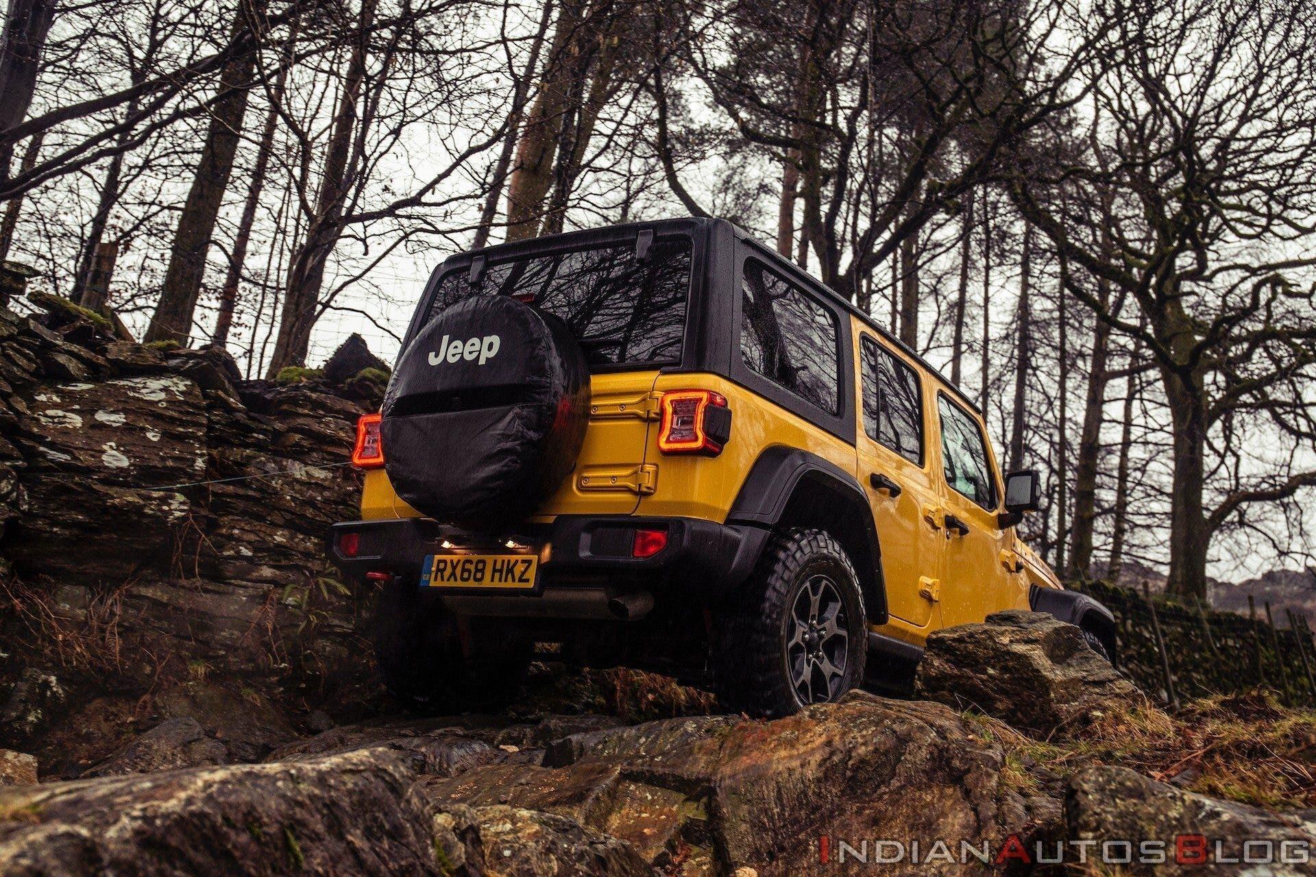 Jeep Wrangler Rubicon 5 porte India