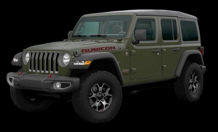 Jeep Wrangler Sarge Green 2020