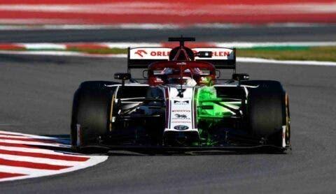 Kimi Raikkonen Test 2020 - 1
