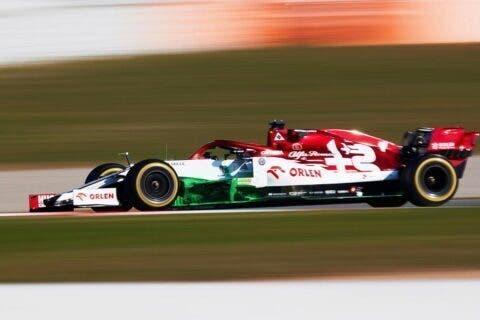 Kimi Raikkonen Test 2020 - 2