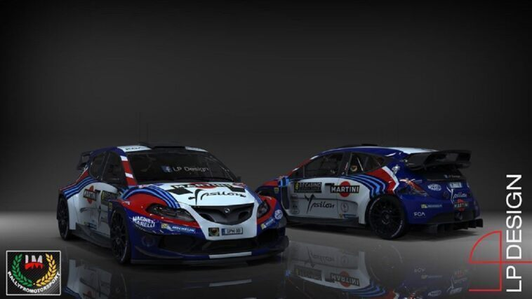 Lancia Ypsilon WRCrender LP Design
