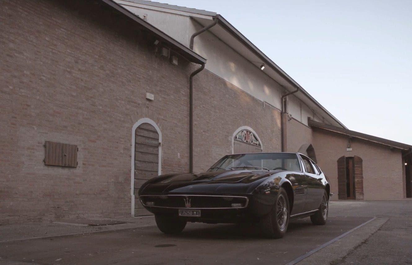 Maserati Ghibli 1966 Made in Modena