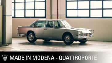 Maserati Quattroporte 1963 Made in Modena