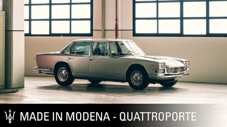 Maserati Quattroporte 1963 Made in Modena
