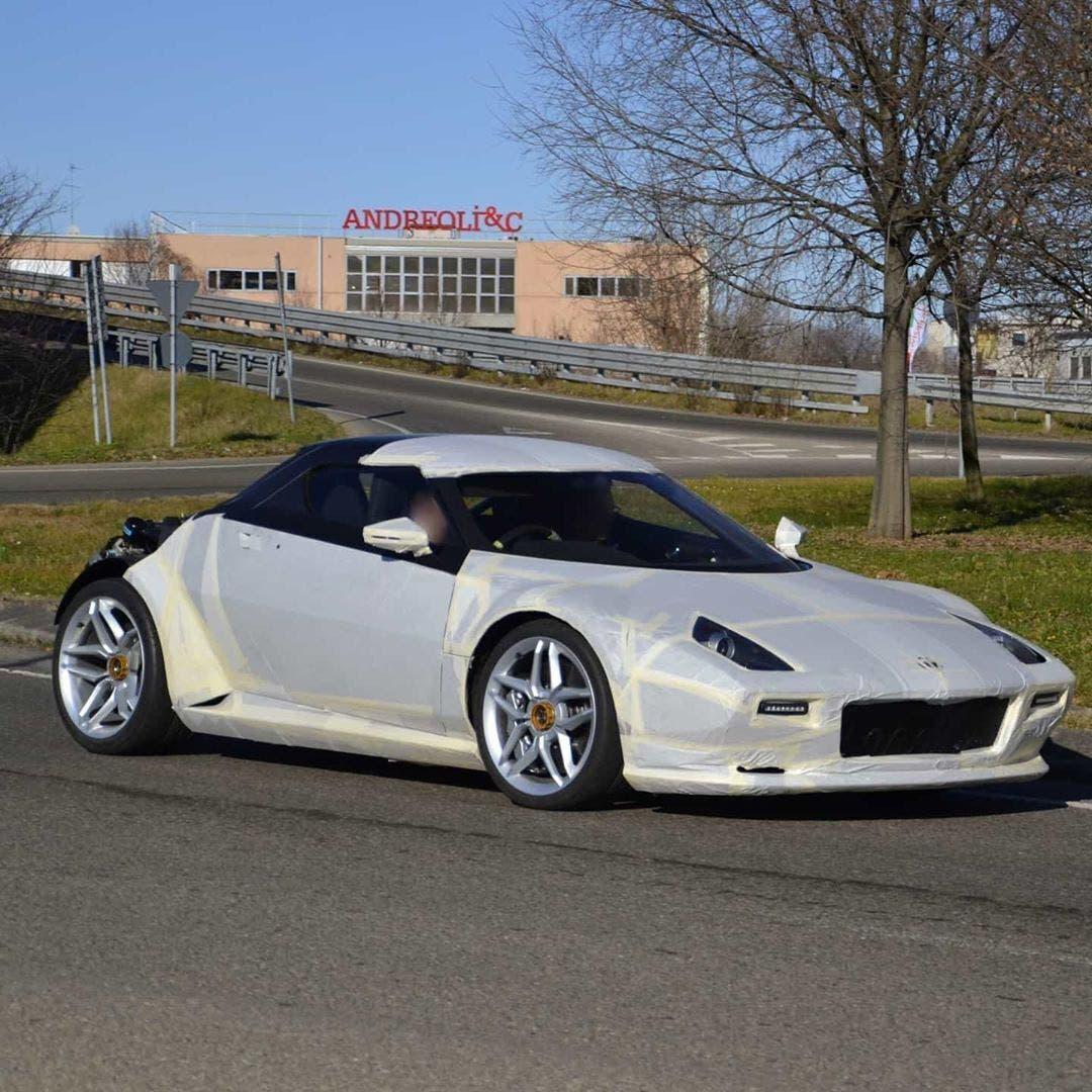New Stratos prototipo Maranello