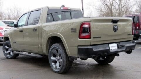Ram 1500 Built to Serve Edition consegne