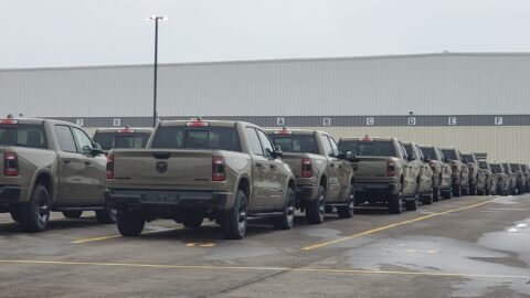 Ram 1500 Built to Serve stabilimento