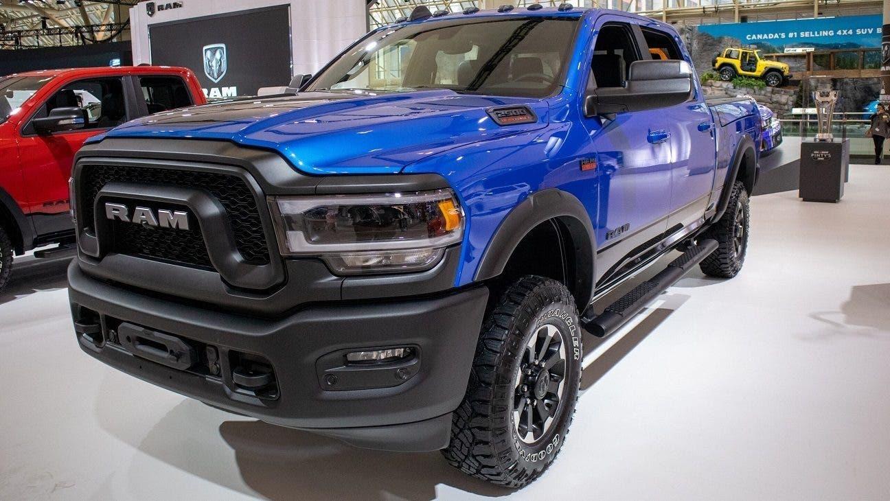 Ram 2500 Power Wagon 2020 Hydro Blue