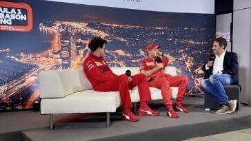 Vettel e Binotto